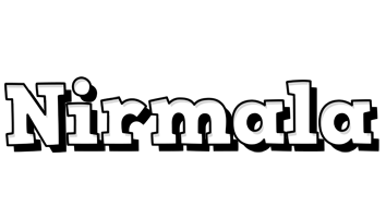 Nirmala snowing logo