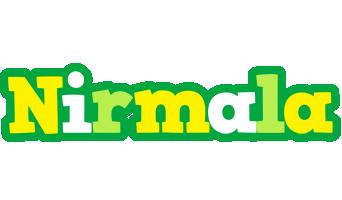 Nirmala soccer logo