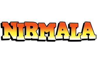 Nirmala sunset logo