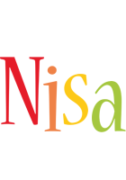 Nisa birthday logo