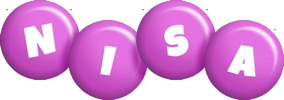 Nisa candy-purple logo