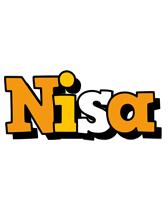Nisa cartoon logo