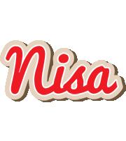 Nisa chocolate logo