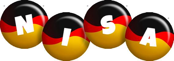 Nisa german logo