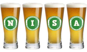 Nisa lager logo