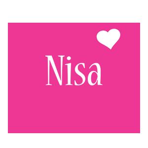 Nisa love-heart logo