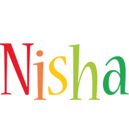 Nisha birthday logo