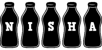 Nisha bottle logo
