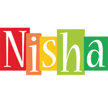 Nisha colors logo