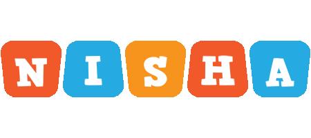 Nisha comics logo
