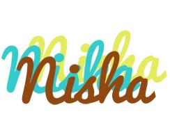 Nisha cupcake logo