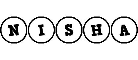 Nisha handy logo