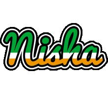 Nisha ireland logo