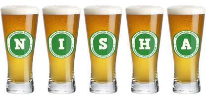 Nisha lager logo