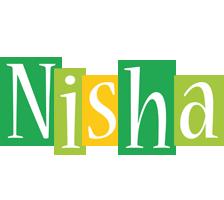 Nisha lemonade logo