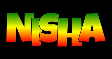 Nisha mango logo