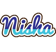 Nisha raining logo