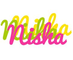 Nisha sweets logo