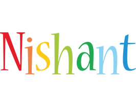 Nishant birthday logo