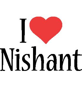 Nishant i-love logo