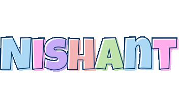 Nishant pastel logo