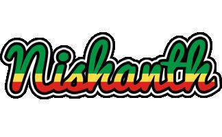 Nishanth african logo