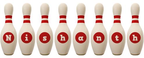 Nishanth bowling-pin logo
