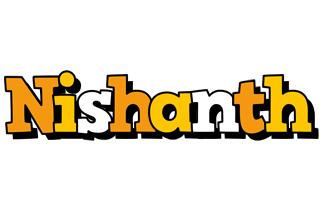 Nishanth cartoon logo
