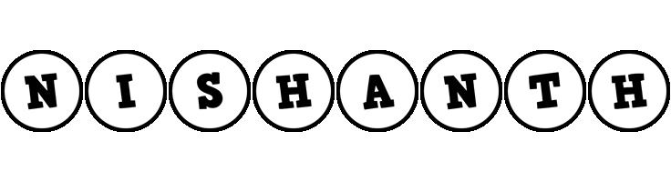 Nishanth handy logo