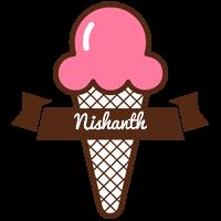 Nishanth premium logo