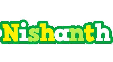 Nishanth soccer logo