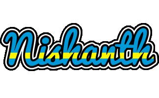 Nishanth sweden logo