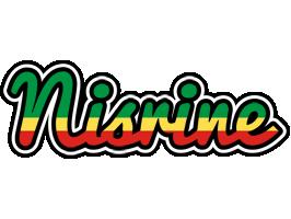 Nisrine african logo