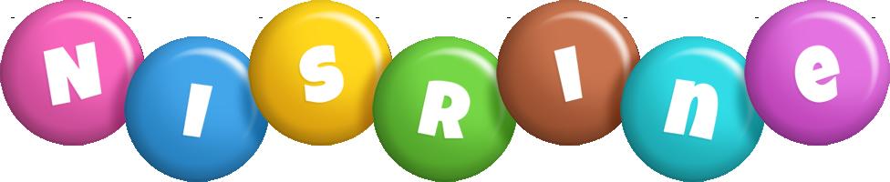 Nisrine candy logo