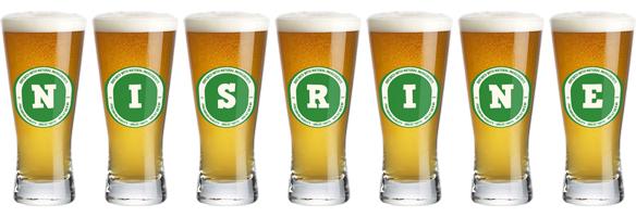 Nisrine lager logo