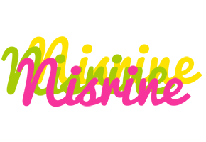 Nisrine sweets logo