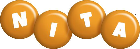 Nita candy-orange logo