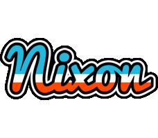 Nixon america logo