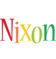 Nixon birthday logo