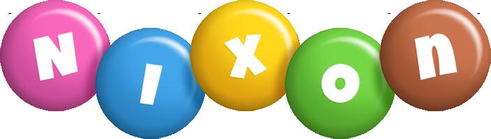 Nixon candy logo