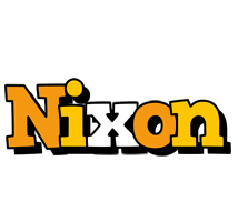 Nixon cartoon logo