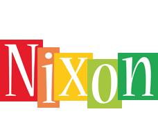Nixon colors logo