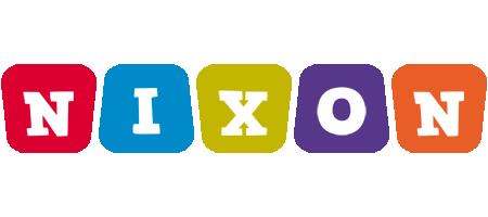 Nixon daycare logo