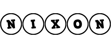 Nixon handy logo