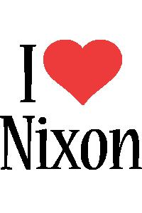 Nixon i-love logo