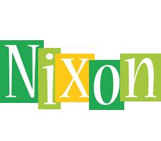 Nixon lemonade logo