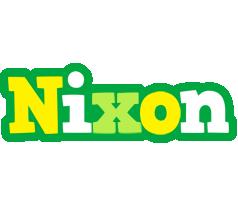 Nixon soccer logo