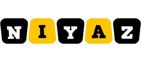 Niyaz boots logo