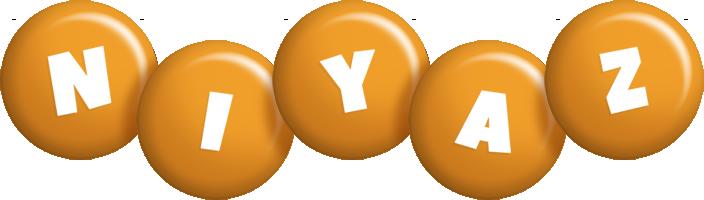 Niyaz candy-orange logo