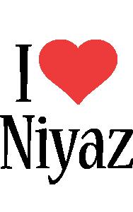 Niyaz i-love logo